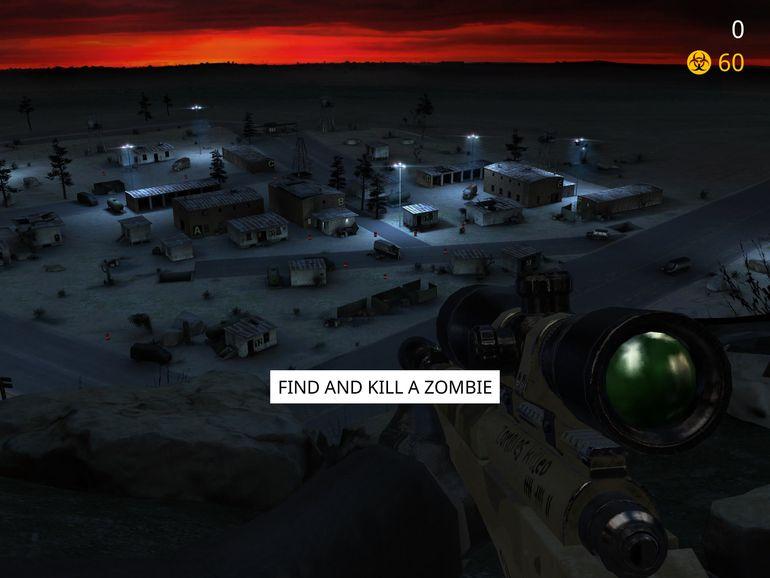 Hitman Sniper zombies